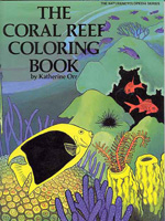 The Coral Reef Coloring Book